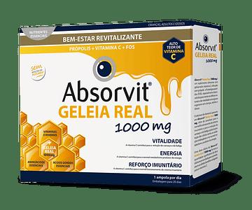 Absorvit Geleia Real 20 Ampolas 10 mL