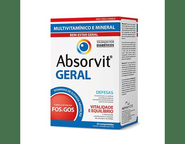 Absorvit Geral Comprimidos x30