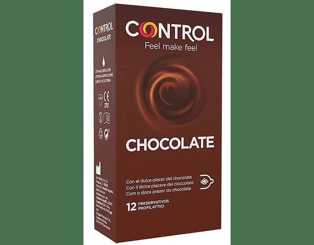 Control Preservativo Chocolate Addiction x 12 unidades