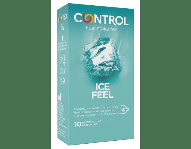 Control Preservativo Ice Feel x 10 unidades