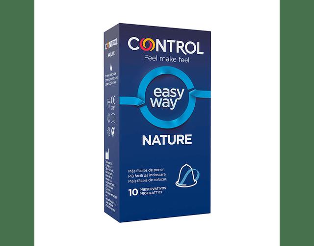 Control Preservativo Nature Easy Way x 10 unidades
