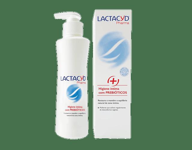 Lactacyd Pharma Prebiótico Gel Higiene Íntima 250 mL