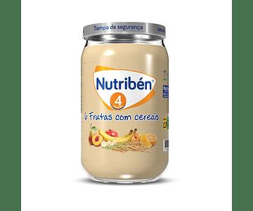Nutriben Boião 6 Frutas com cereais 235 g