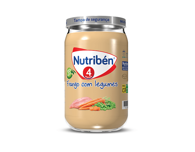 Nutriben Boião Frango com Legumes 235g