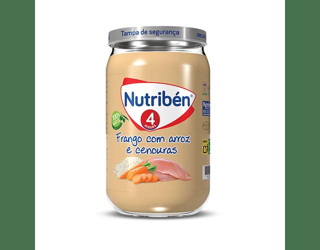Nutriben Boião Frango Com Arroz e Cenouras 235g