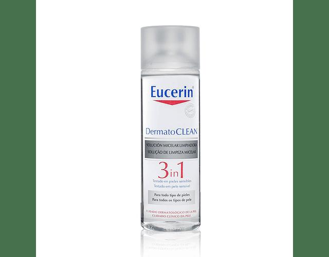 Eucerin DermatoCLEAN Solução de Limpeza Micelar 3 em 1