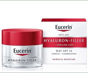 Eucerin Hyaluron-Filler + Volume Lift Dia Pele Normal a Mista 50 mL