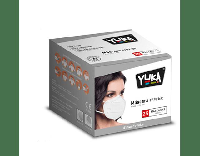 Máscaras FFP2 NR 25 Unidades (0.66€/unidade)