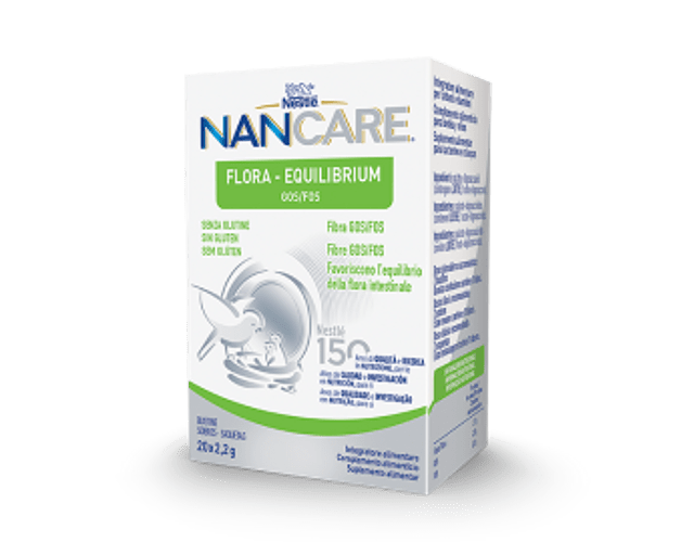 Nestlé Nancare Flora-Equilibrium 2,2g x 20 saquetas