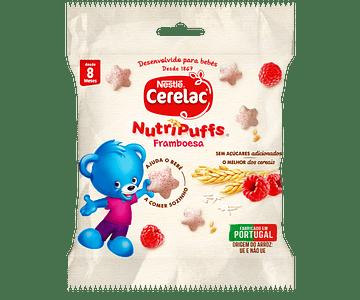 Cerelac Nutripuff Framboesa 7g +8 meses