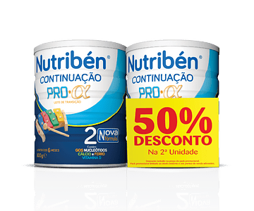 Nutribén Continuação Pro-Alfa 2 800g - 2ª unid -50% desconto