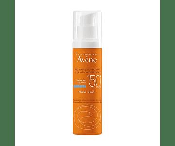 Avène Solar Fluido Spf 50+ Sem Perfume