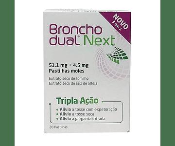 Bronchodual Next 20 pastilhas