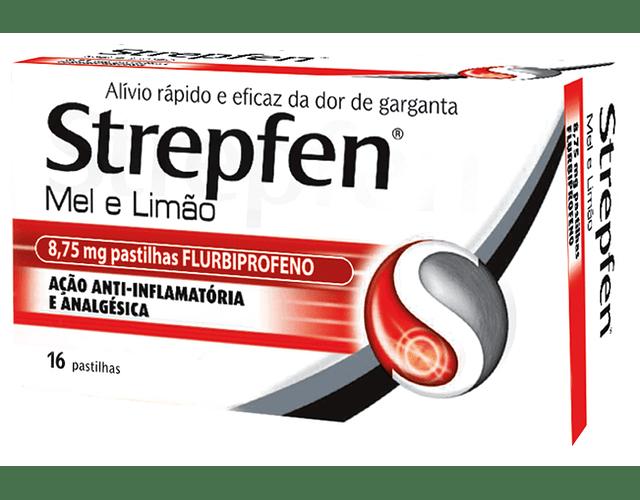 Strepfen Mel e Limão 16 pastilhas