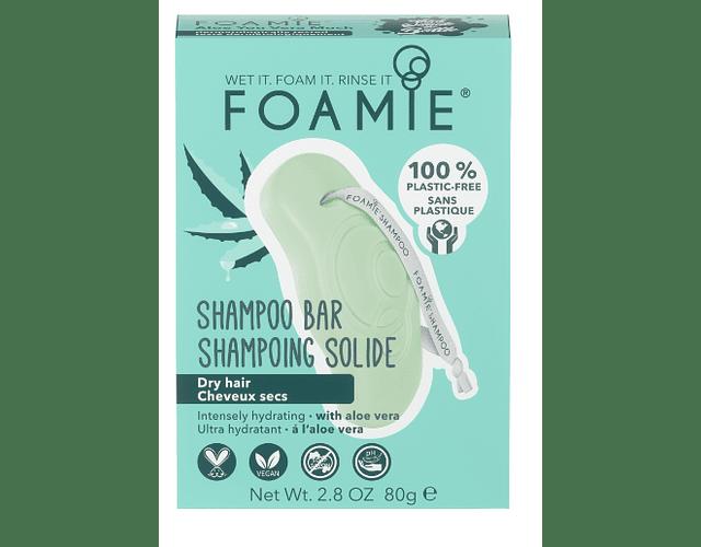 Foamie Champô Sólido 80g - Aloe Vera