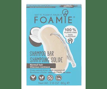 Foamie Champô Sólido 80g - Óleo de Coco