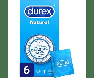 Durex Preservativo Natural Plus x 6 unidades