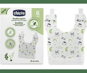 Chicco Babetes Compostavéis +6 meses 40 unidades
