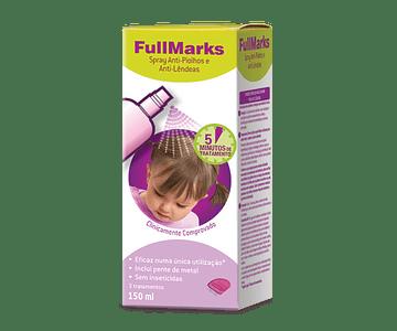 Fullmarks Spray Anti-Piolhos Lêndeas 150ml