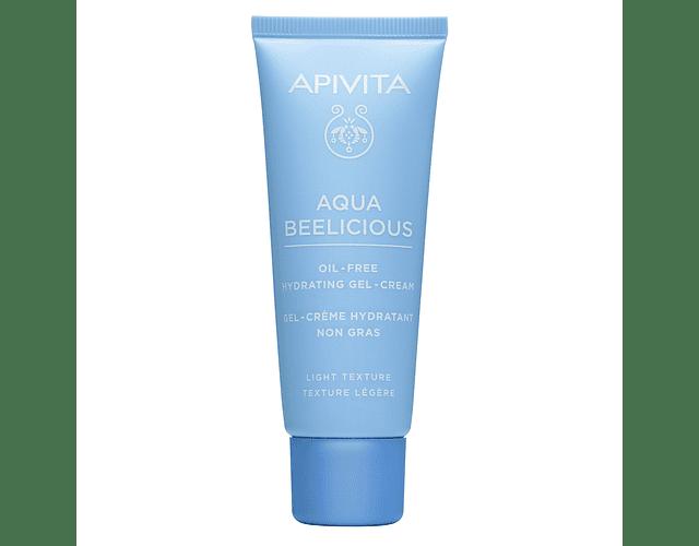 Apivita Aqua Beelicous Gel-Creme Hidratante Oil-Free Textura Ligeira 40ml