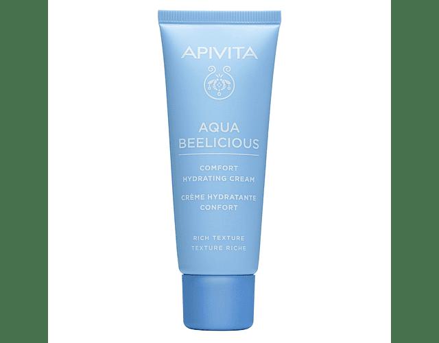 Apivita Aqua Beelicious Creme Conforto Hidratante Textura Rica 40ml