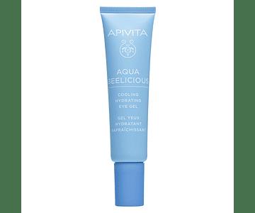 Apivita Aqua Beelicious Gel De Olhos Hidratante Refrescante  15ml