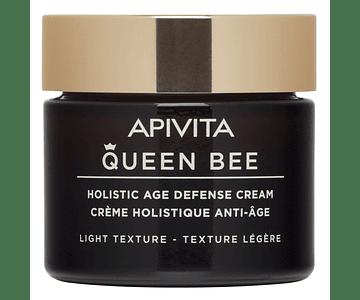 Apivita Queen Bee Creme Antienvelhecimento Global Textura Ligeira 50 mL