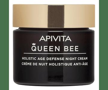 Apivita Queen Bee Creme De Noite Antienvelhecimento Global 50 mL