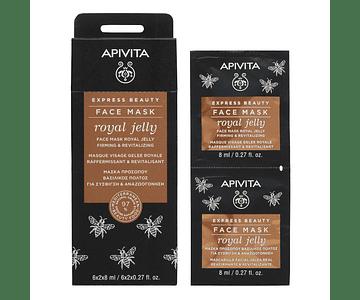 Apivita Express Beauty Máscara Refirmante & Revitalizante De Geleia Real 2x8 mL