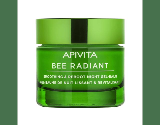 Apivita Bee Radiant Gel-Bálsamo De Noite Suavizante & Revitalizante 50 mL
