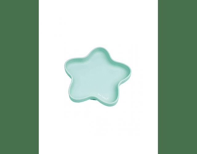 Saro Prato Silicone Star – Verde
