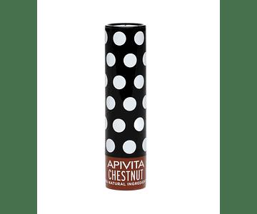 Apivita Cuidado Labial De Castanha Com Cor 4,4g