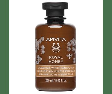 Apivita Royal Honey Gel De Banho Com Óleos Essenciais 250 mL
