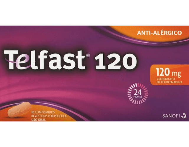 Telfast 120, 120 mg x 10 comp rev