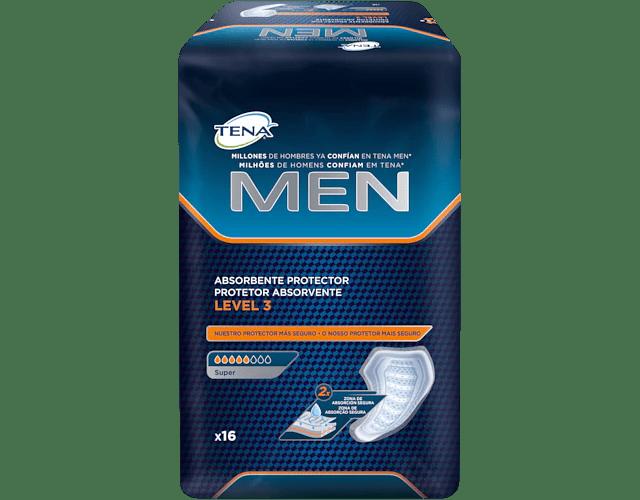 TENA Men Protetor Absorvente Nível 3 x 16