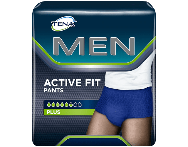 TENA Men Active Fit Pants M x 9