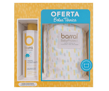 Barral BabyProtect Creme Hidratante 400 mL + Termo (OFERTA)