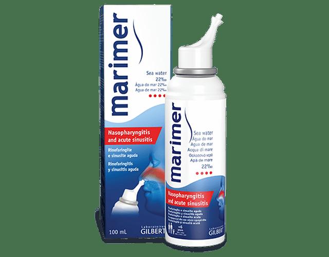 Marimer Spray Água do Mar 22% 100 mL