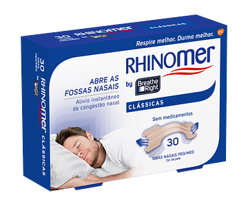 Rhinomer Tiras Nasais Clássicas x 30