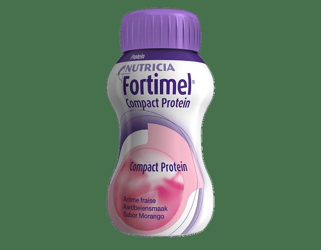 Fortimel Compact Protein Morango 4 x 125mL