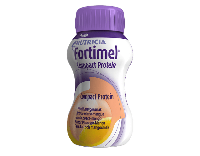 Fortimel Compact Protein Pêssego/Manga 4 x 125mL