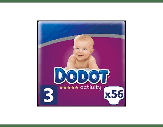 Dodot Activity Fraldas T3  6-10kg x56