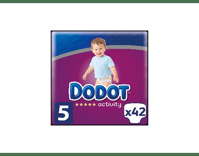 Dodot Activity Fraldas T5 11-16kg x42