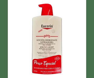 Eucerin pH5 Loção Hidratante Light 1L Preço Especial