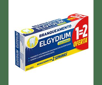 Elgydium Pasta Dentífrica Branqueamento Cool Lemon 2x75ml