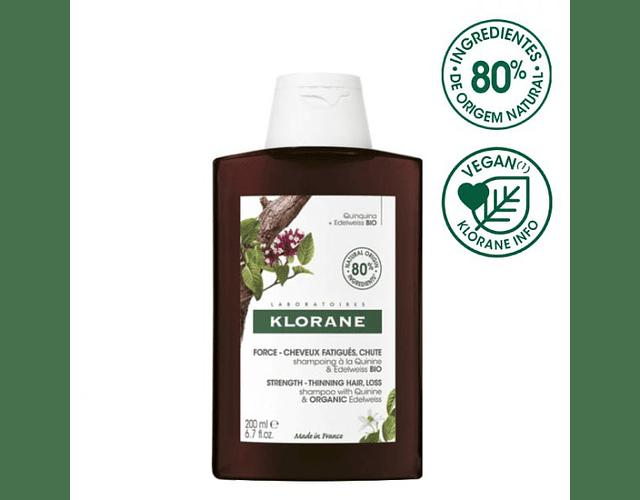 Klorane Capilar Champô Quinina BIO 200 mL