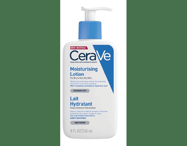 CeraVe Core Moist Loção Hidratante Diária 236 mL