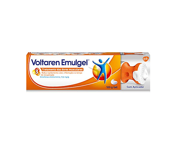 Voltaren Emulgel , 10 mg/g Bisnaga 120 g Gel