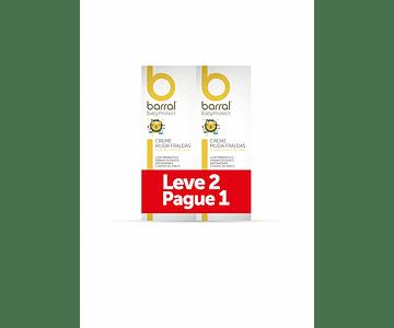 Barral Babyprotect Duo Creme Muda Fraldas 2 X 75 Ml Com Oferta De 2ª Embalagem