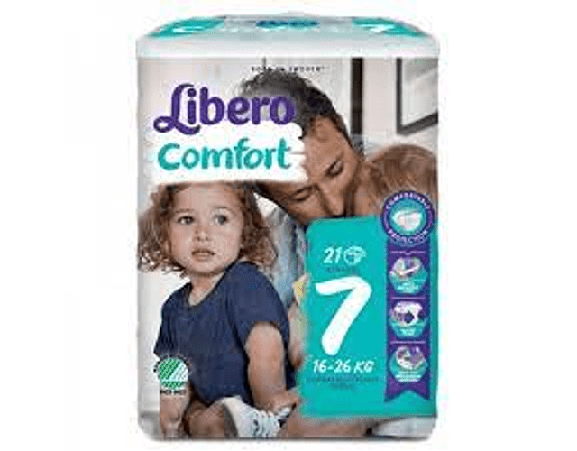 Libero Fralda Comfort (T7)